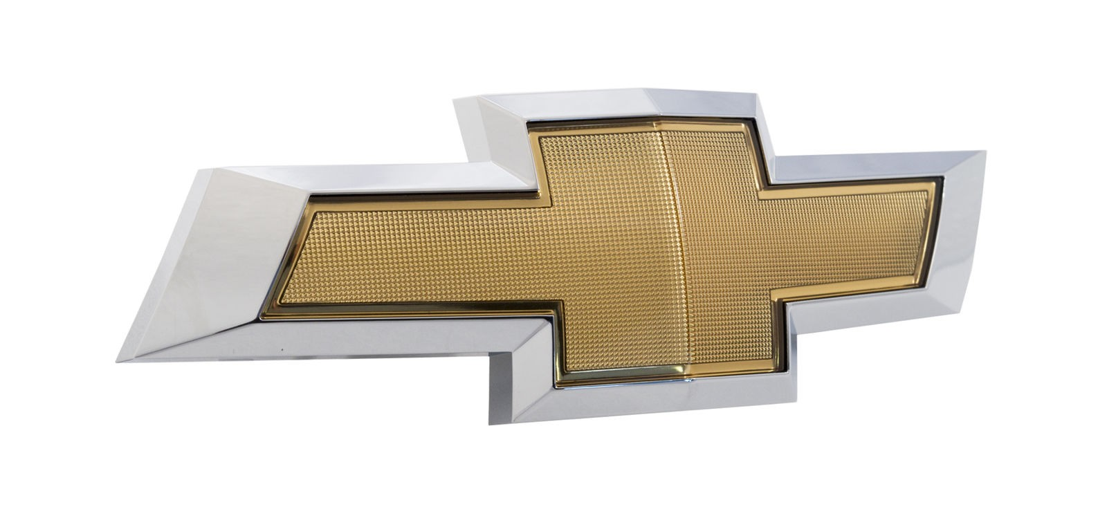 2014-2015 Camaro Front Grille Chevy Bowtie Emblem in Gold & Chrome