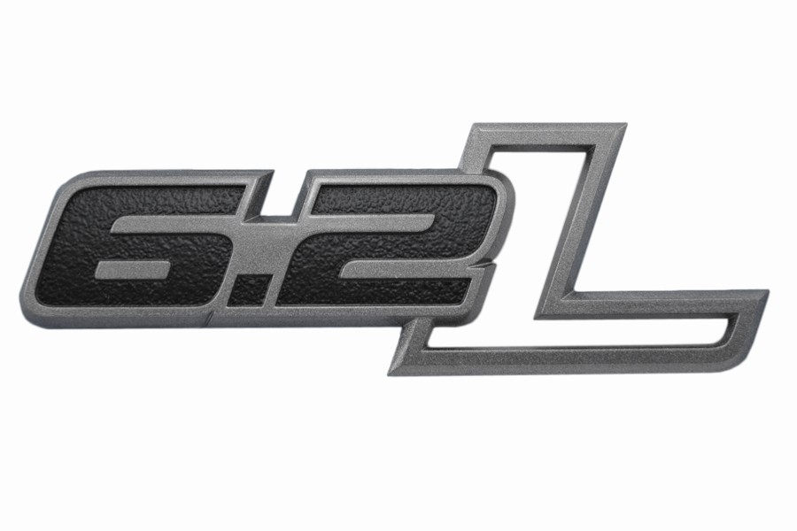 Ford F 150 Raptor Amp Ss Camaro 6 2l Black Amp Gray Emblem