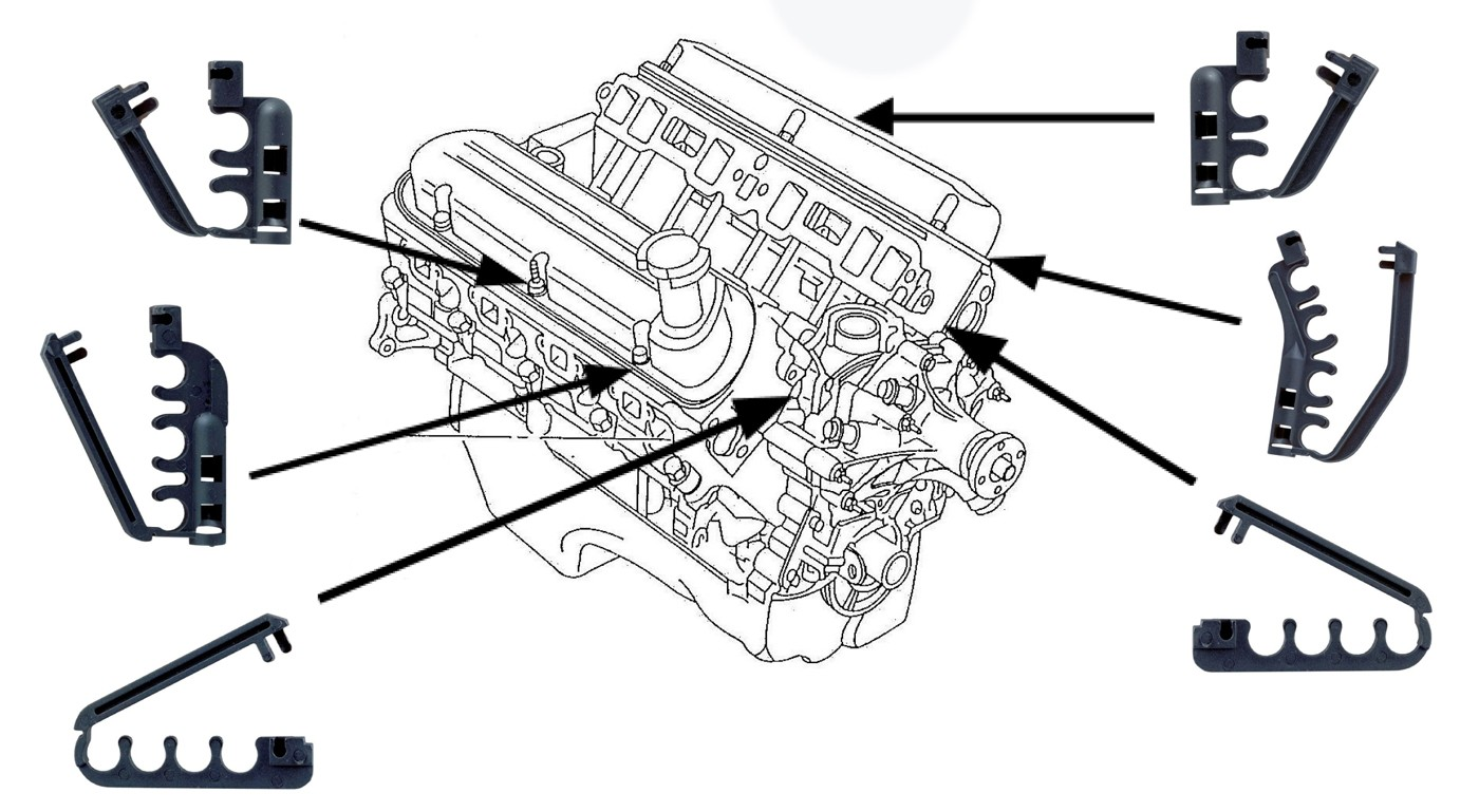 2011 Duramax Exhaust Spark Plug further 3762177 Routing Spark Plug Wires in addition 2001 Ford Windstar Spark Plug Wire Diagram moreover  on spark plug wire holders chevrolet