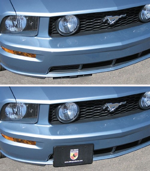 1979-2015 Ford Mustang Show-N-Go Retractable License Plate Frame ...