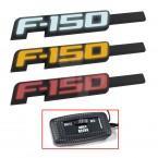 2009-2014 Ford F-150 Light Up Black Fender Emblems - Red White or Amber
