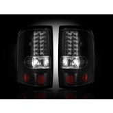 2004-2008 Ford F-150 Smoked LED Taillights RECON 264178BK