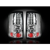 2004-2008 Ford F-150 Clear LED Taillights RECON 264178CL