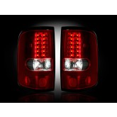 2004-2008 Ford F-150 Red LED Taillights RECON 264178RD