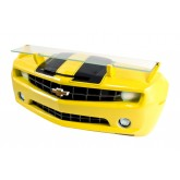 Chevrolet Camaro Yellow & Black Front End Hanging Decoration with Glass Shelf
