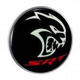 "Dodge Hellcat SRT 15"" Black LED Backlit Light Up Garage Man Cave Wall Sign"