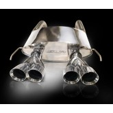 2009-2013 C6 Corvette PowerFlo Stainless Axle Back Exhaust SLP 32003