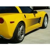2005-2013 C6 Corvette Side Door Graphics with Black Fade