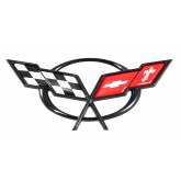 1997-2004 C5 Corvette Black OEM Rear Emblem