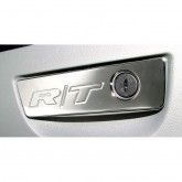 2006-2014 Challenger & Charger Chrome Locking Glove Box Handle Trim - R/T Engraved