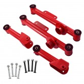 1979-2004 Mustang Red Upper & Lower Rear Control Arms