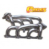 1994-1995 Pypes Mustang GT 5.0L Polished Stainless Shorty Headers - Pair