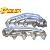 2005-2009 Pypes Mustang GT 4.6L Polished Stainless Shorty Headers - Pair