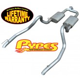 "1998-2004 Mustang V6 3.8L 409 Stainless Steel Cat-back 2.5"" Exhaust System"