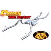 "1996-1997 Pypes Mustang GT 4.6L 2.5"" ""The Beast"" Header-Back Exhaust System w/ X-Pipe + 3"" Tips"