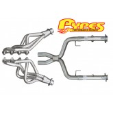 "2005-2010 Pypes Mustang GT 2.5"" Stainless Long Tube Headers w/ X-Pipe"