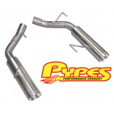 "2005-2010 Mustang GT Pypes 2.5"" Pype-Bomb Axle-Back Muffler-Delete System"