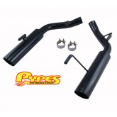 "2005-2010 Mustang GT Pypes Black 2.5"" Pype-Bomb Axle-Back Muffler-Delete System"