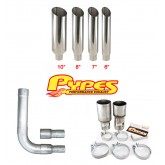 Pypes Diesel Truck Single Stack Miter Cut Exhaust Kit