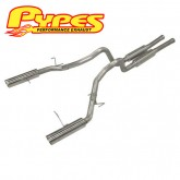 "2011-2014 Ford Mustang GT Pypes 3"" Super System Cat Back Exhaust"
