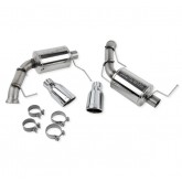 2011-2014 Ford Mustang Roush 3.7L V6 Dual Exhaust Kit w/ Round Tips