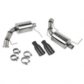 2011-2014 Ford Mustang Roush V6 3.7 Axle Back Dual Exhaust Kit w/ Black Tips