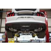 2015-2017 Mustang V6 Ecoboost Roush Quad Tip Passive Exhaust & Rear Valance Kit