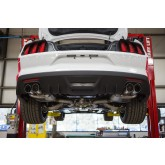 2015-2017 Mustang V8 5.0 Coupe Roush Quad Tip Passive Exhaust & Rear Valance Kit