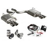 2015-2017 Mustang ROUSH 421926 Customizable Active Exhaust Upgrade Kit