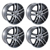2005-2014 Mustang Boss 302S Laguna Seca Front & Rear Wheels Set