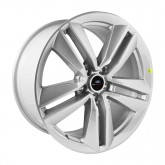 """2015-2017 Mustang EcoBoost I4 Performance Pack Wheel 19"""" x 9"""" - Sparkle Silver"""