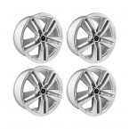 """2015-2017 Ford Mustang Ecoboost Performance Pack Silver Wheels 19"""" x 9"""" Set of 4"""