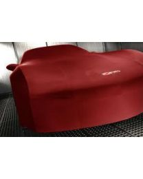 2006-2013 Corvette Z06 Red Indoor Car Cover with Logos & Storage Bag 19158375