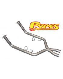 2005-2010 Pypes Mustang GT 2.5 Crossover X-Pipe for Short Tube Headers