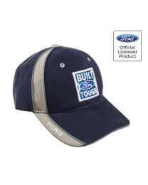 Ford Truck F150 F250 F350 Built Ford Tough Blue & Tan Baseball Hat Cap