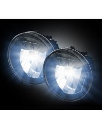 RECON 2009-2014 F-150 Direct Fit CREE LED Smoked Lower Fog Lights Lamps Pair