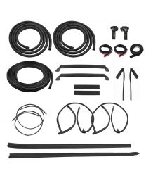 1987-1988 Mustang GT T-Top Weatherstrip Weatherstripping Rubber Seal Kit