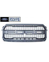 2017-2018 Genuine Ford F-150 SVT Raptor OEM Front Grille w/ LED Lights