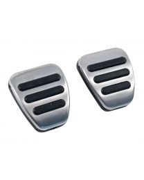 2011-2018 Mustang OEM Ford Aluminum Sport Manual Brake & Clutch Pedal Pads Set