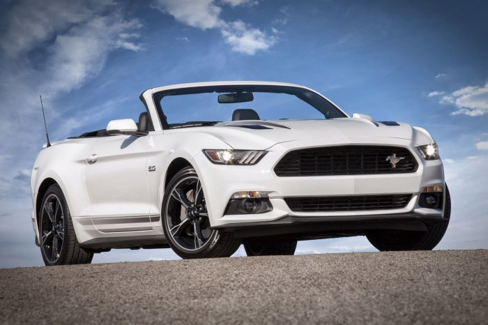 2016-2017 Mustang GT California Special Tribar Running Horse Grille Emblem