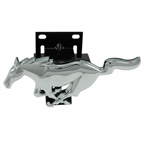 1994-2004 Mustang Chrome Front Grille Running Horse Emblem /& Bracket