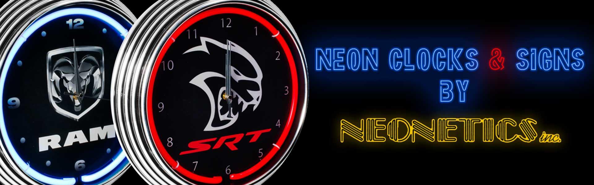Neonetics Clocks and Signs